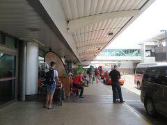 マナグアからサンホセに着きました。 ここからサンホセ市内へは30分かからずに行けます。