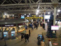 ロンドンへ移動するときに利用するので駅の下見に寄ってみました エディンバラ・ウェーバリー駅