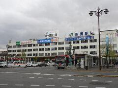 新潟駅 万代口。