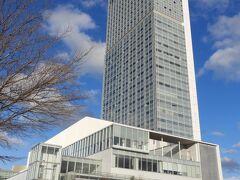 朱鷺メッセ新潟コンベンションセンター外観。