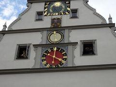 ローテンブルク・オプ・デア・タウバー Rothenburg ob der Tauber  広場の北側にある「Ratstrinkstube 市参事会酒宴館」