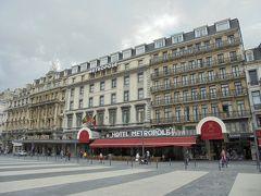 ホテルメトロポール  FlixBusはにブリュッセル北駅に確か10分程度の遅れで到着していたと思います。予約していたホテルメトロポールへ向かいました。