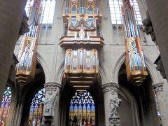 サンミッシェル大聖堂 パイプオルガン 大きい!そしてとても美しい音だとか。