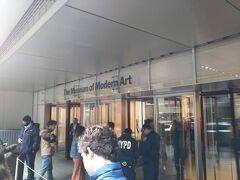 新装なったMoMAへ。ここはニューヨーク・エクスプローラーパスで入場。