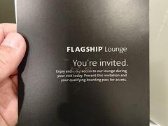 アメリカに無事入国し時間があるので、こちらへ アメリカン航空のFLAGSHIP Loungeへ