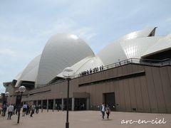 そして、オペラハウス! 大きすぎて、近くではカメラに収まりきらない(^^;)。