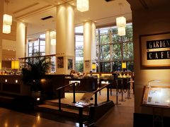 と、その前に… 腹ごしらえ♪ 朝食は、ブッフェレストラン「テラスレストラン/ガーデンカフェ」で。
