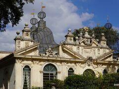 エディフィシオ デッラ メリディアナ<ボルゲーゼ公園 Villa Borghese Edificio della Meridiana , Villa Borghese, Italy