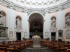 サン・ベルナルド広場の南にある教会 サン ベルナルド アッレ テルメ聖堂