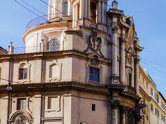 サン・カルロ・アッレ・クワトロ・フォンターネ聖堂 Chiesa di San Carlino alle Quattro Fontane