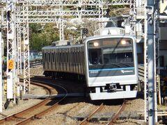 中央林間駅から小田急の普通で大和駅へ。3駅先。