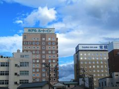 この日の宿泊もまたルートイン。今度は福井駅前の。