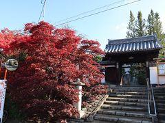 線路を渡って、伏見街道を横切り東へ進みます。 緩やかな上り坂を上っていくと見えて来ました。 東福寺の塔頭「光明院」