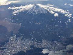 綺麗にくっきり。 やはり雪化粧をしている富士山はイイですね。