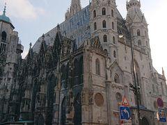 歩いて再びシュテファン大聖堂にやってきました。