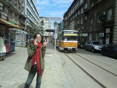 レトロで可愛らしい路面電車、トラム。こちらは旧ソ連時代から使われているそうです。