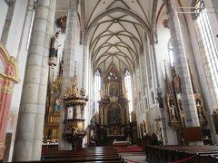 聖ヴィート教会の中にも入ってみる。
