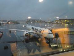 PM15:00 ほぼ定刻にヘルシンキヴィンター空港到着。