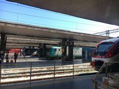 30分乗車してローマの中央駅、11:30、テルミニ駅に到着!