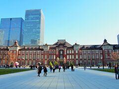 良いお天気でよかった(^^♪ 東京駅から歩きますよ~