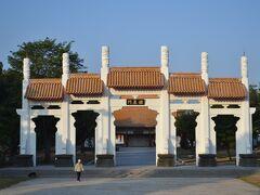 高雄孔子廟 続いて、1976年建築の高雄孔子廟へ。