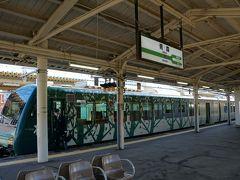 青森駅に到着~  いやー、快適でしたー。