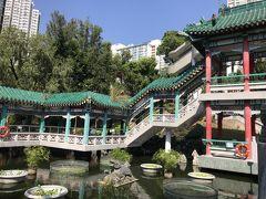 一番奥には「従心苑」という庭園が広がっています。いかにも中国っぽい雰囲気。