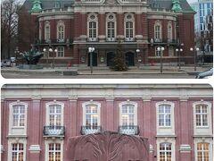 Laeiszhalle.(ライスハレ)  コンサートホール。ハンブルク交響楽団とドイツ室内フィルハーモニー管弦楽団の本拠地。