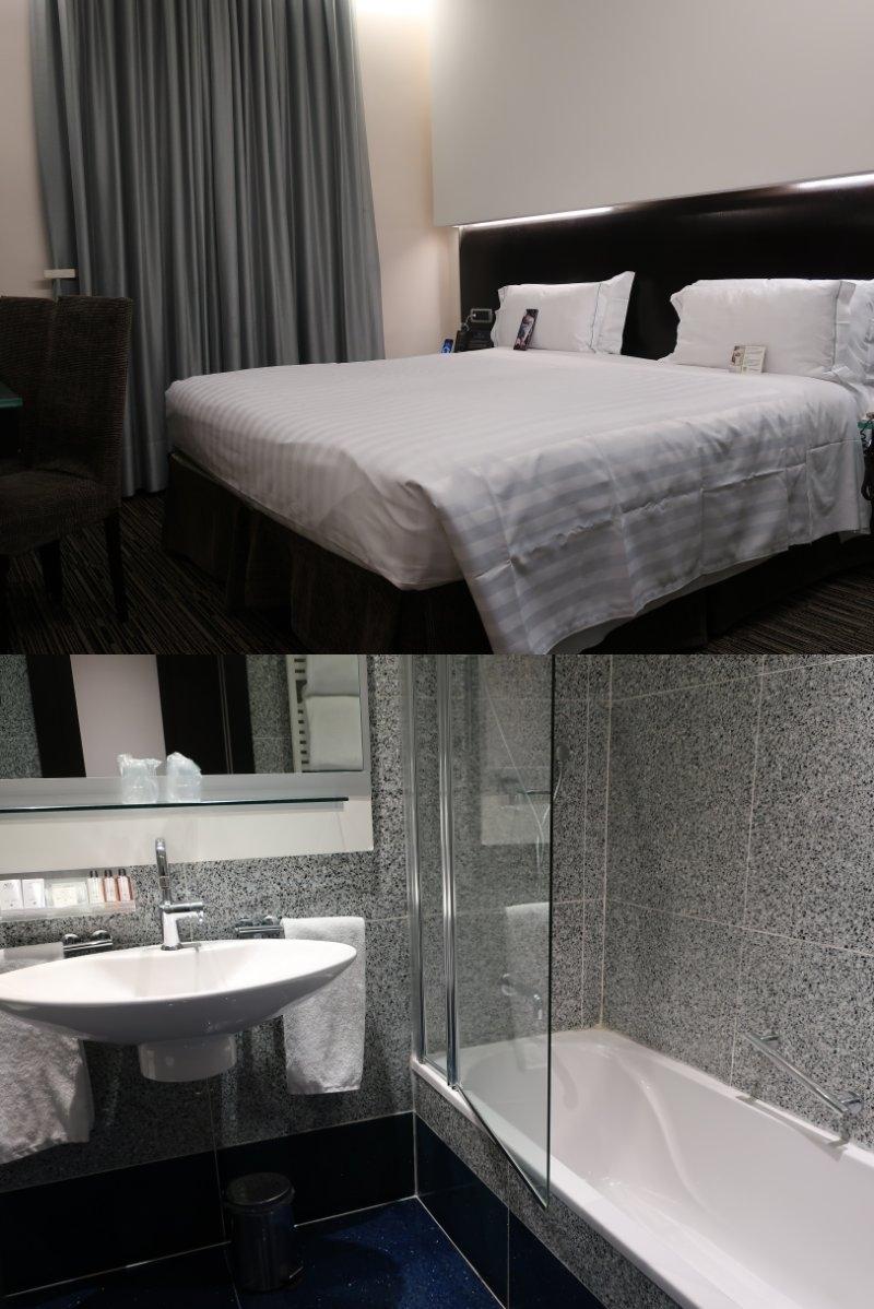 今回のお宿は、テルミニ駅近くの 「ベスト ウエスタン ホテル プラス ウニヴェルソ」です。  かつてはミシュランに載ってたけど今はなし。 でも改装されてきれいだし安いし、 一番は立地の良さです。