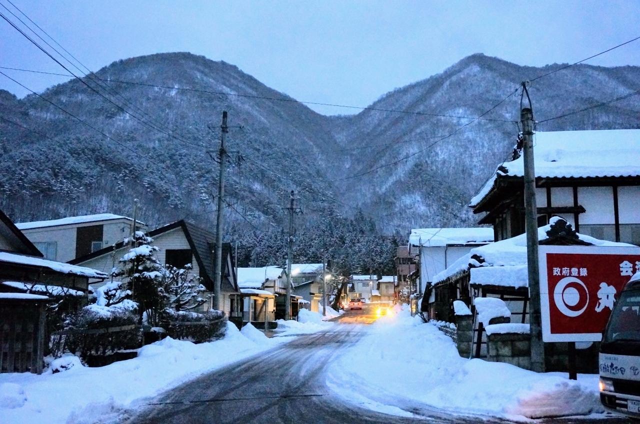 冬の会津若松と大内宿の雪まつり ②