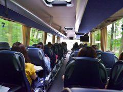 8/5(月) バスでリューデスハイム市街観光に出発