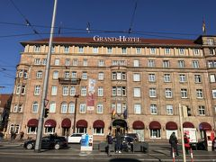 ニュルンベルグ駅前 ルメリディアンに到着 駅の真ん前だった