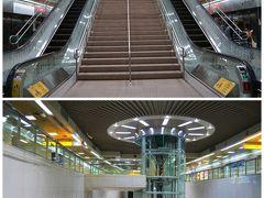 さて、高雄の地下鉄、MRTは、 2008年の開業ということで、 とってもきれい、明るい、広い☆ 微妙に違うけど、同じ漢字の国なので 駅名もわかりやすーい。