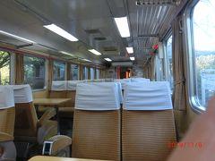 列車レストラン・清流は神戸駅の向こうのホームにあり、 列車を利用しています。