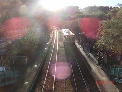 わたらせ渓谷鐵道の列車が神戸駅に入ってきました。 ラッキーです。