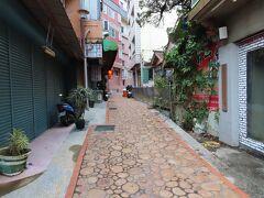 関子嶺老街、百年老街とも呼ばれ、当時、ここが唯一の道だったそうです