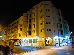 18:00 フェズ到着。 「ホテル・ムーニア」(Hotel Mounia)にチェツクインです。