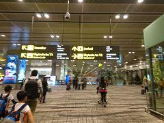 食後は、再入眠♪ あっという間に、チャンギ国際空港に到着!