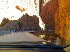突然視界が広がると、「トドラ峡谷」到着です。