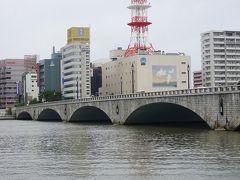●萬代橋  橋がかかった当初は、今の萬代橋の約2.5倍もあり、日本最長であったそう。 ちなみに782mあったそうです。