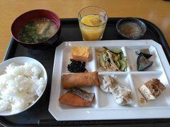 ●朝食@新潟パークホテル  ホテルで朝食を頂きました。