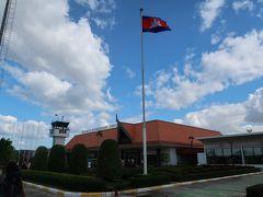 ▽12月2日(月) 旅行5日目続き シアヌークビルからシェムリアップ国際空港に到着しました。