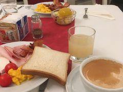 12月27日 ホテルの朝食
