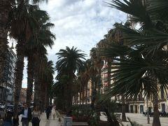 バーリ到着後、ホテルに荷物を預けてバーリの街をブラブラ歩いて南国っぽい雰囲気漂うヴィットリオエマヌエーレ2世通りへ。ほとんど観光客はいません。