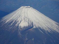 恒例の、冬の富士山をパシャ。