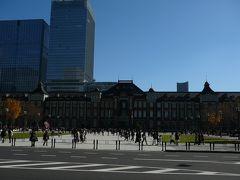 次の日は東京駅へ・・KITTEにも登って東京駅の見学でもしようと思いましたが・・KITTE自体の開店が11時と遅く行くことはできませんでした・・
