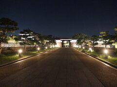 食後、ホテルに戻る前に大阪城に向かいました。