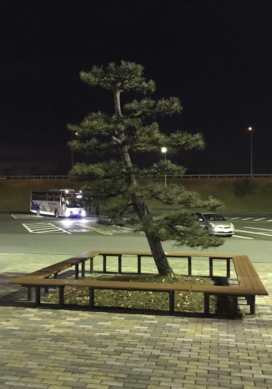 城下町の風情。 明るい時間に立ち寄りたい 松代パーキングエリアでした。