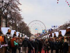 ■Place Ste. Catherine  聖カトリーヌ教会前のクリスマスマーケット。ブリュッセルの中では一番規模の大きいマルクトでした。