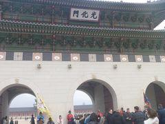 10:30 景福宮到着。  韓国歴史ドラマ好きの私がどうしても行きたかった場所。